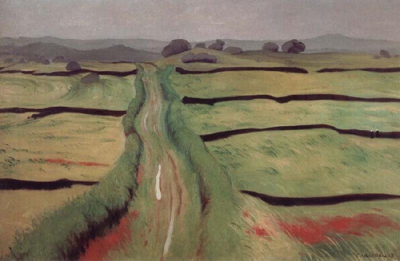 Felix Vallotton Path in the Heathland