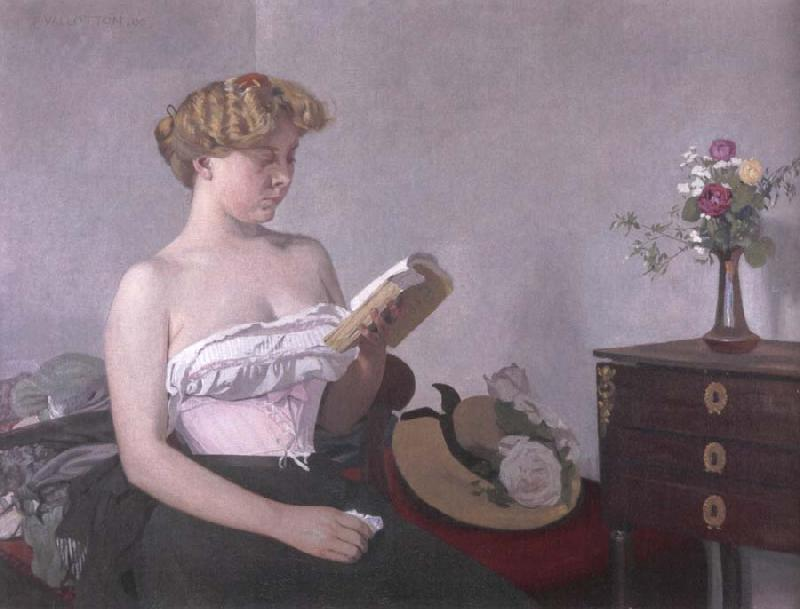 Felix Vallotton Woman Reading