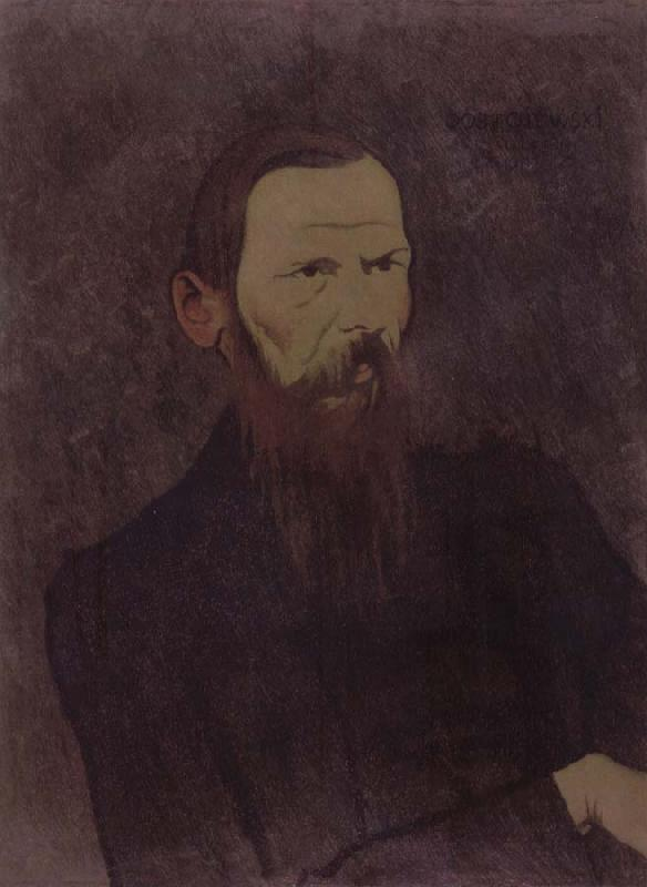 Felix Vallotton Portrait decoratif of Fyodor Dostoevsky