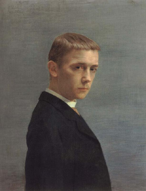 Felix Vallotton Self-Portrait at the Age of Twenty