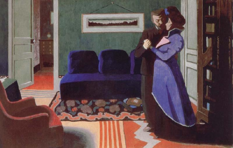 Felix Vallotton The Visit