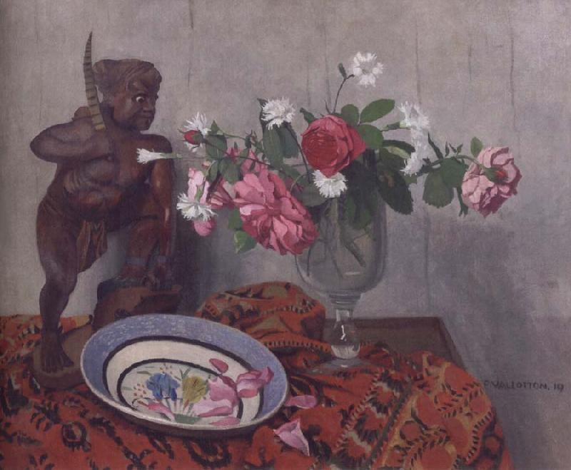 Felix Vallotton Still life with Tonkinese Warrior