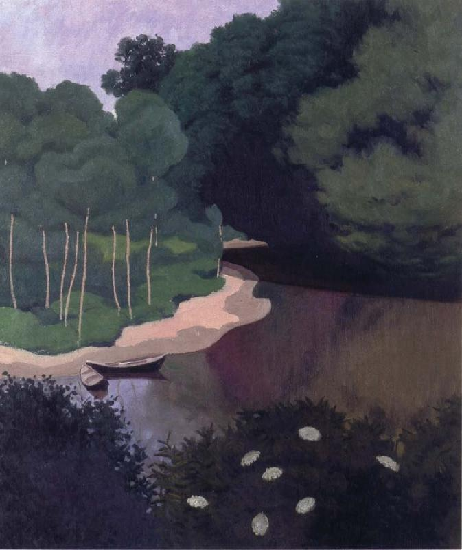 Felix Vallotton The Dordogne at Carennac