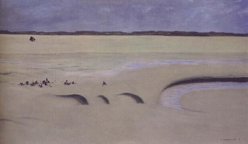 Felix Vallotton Mud,Stormy Sky