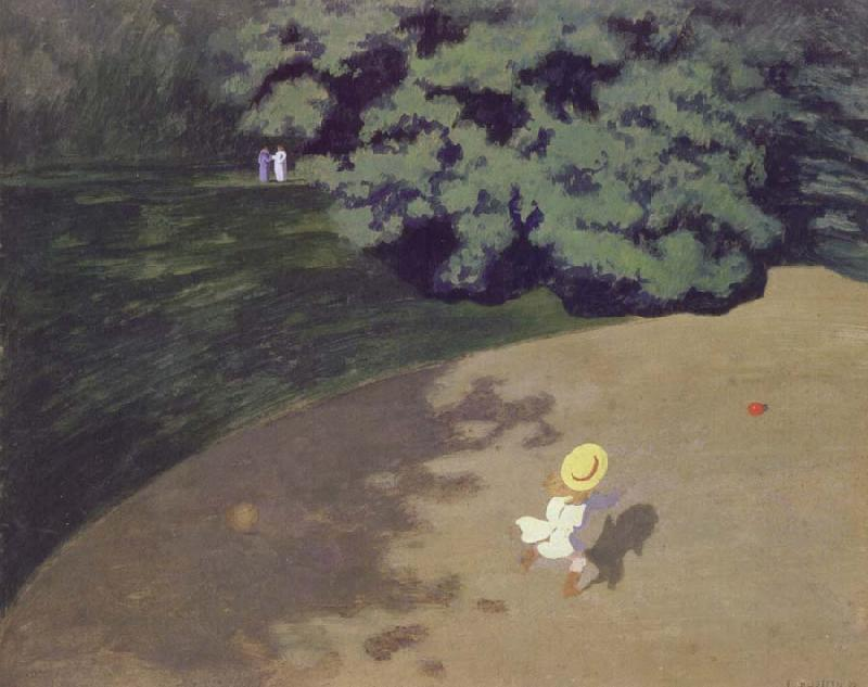 Felix Vallotton The Ball