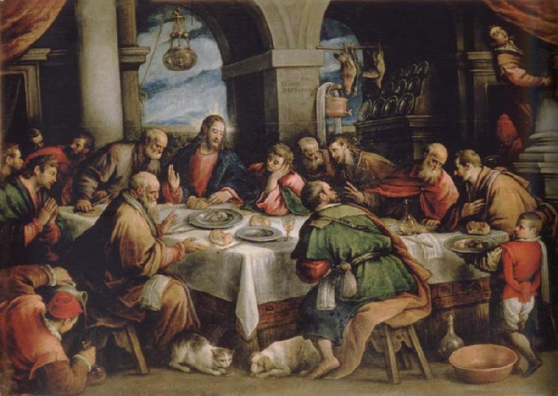 Francesco Bassano the younger The communion