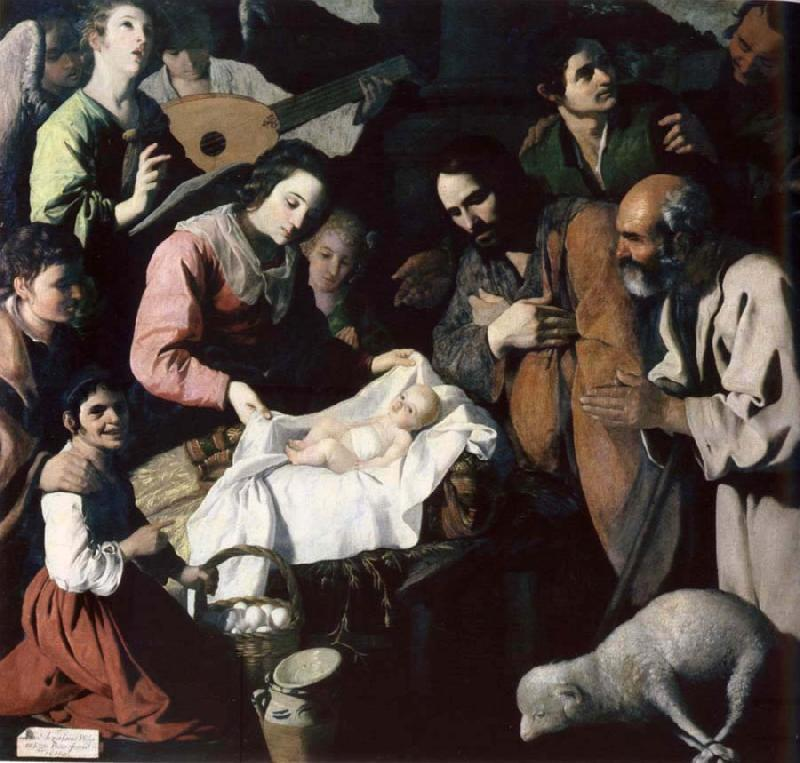 Francisco de Zurbaran The adoration of the shepherd