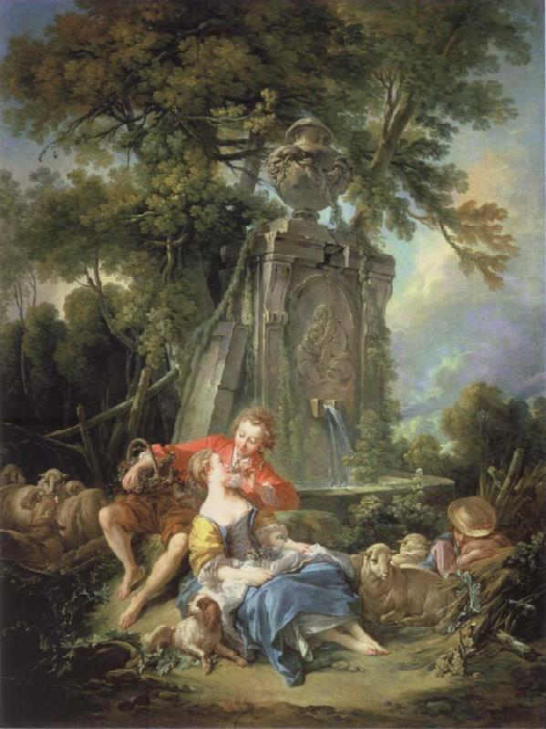 Francois Boucher Think of the grapes
