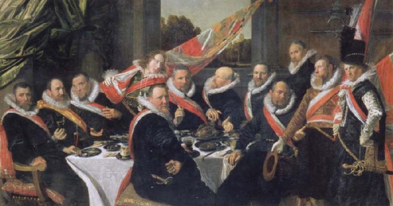 Frans Hals Festmabl of the officers of the St. Jorisdoelen in Haarlem