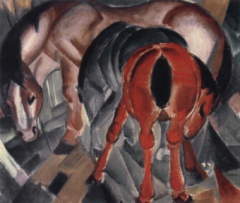 Franz Marc Horse with two foals