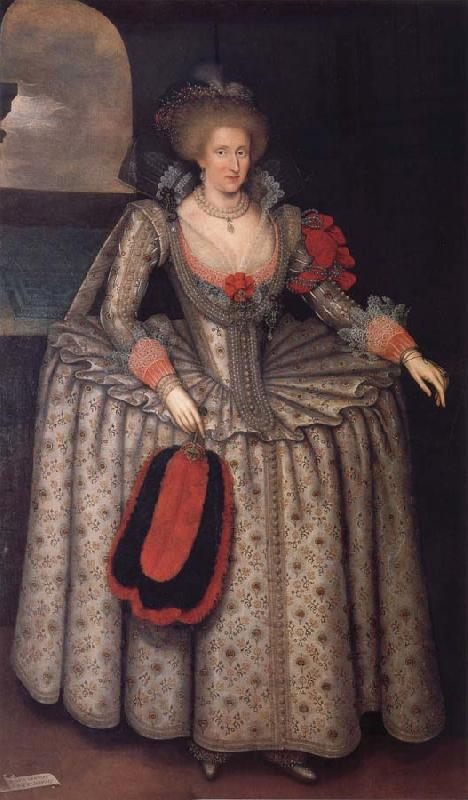 GHEERAERTS, Marcus the Younger Anne of Denmark