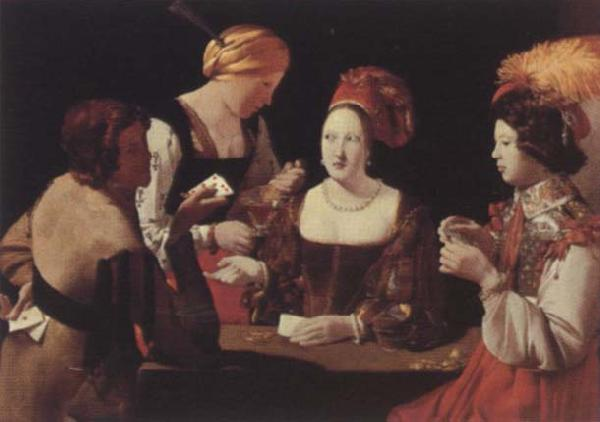 Georges de La Tour The incorrect player
