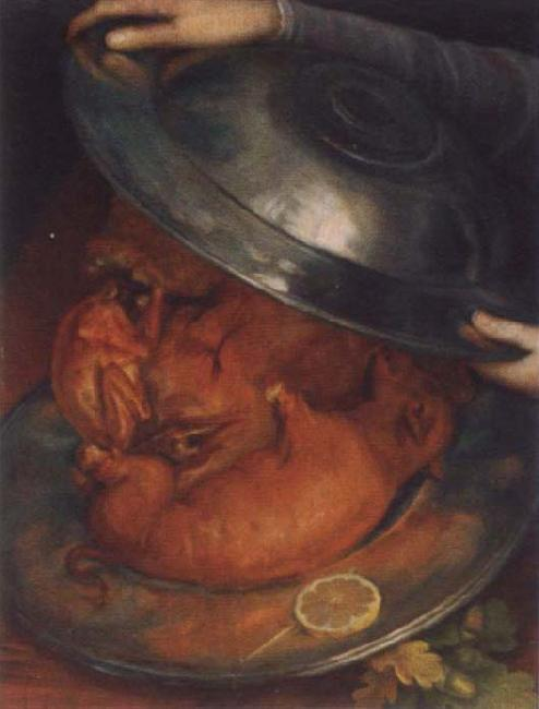 Giuseppe Arcimboldo The cook or the roast disk