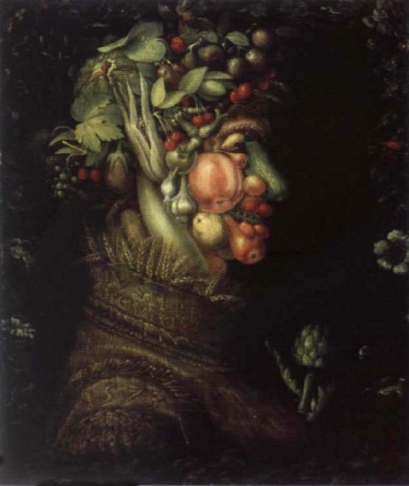 Giuseppe Arcimboldo The summer