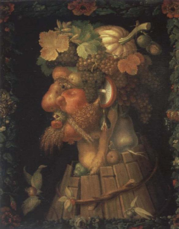 Giuseppe Arcimboldo The autumn