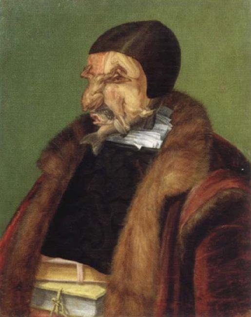 Giuseppe Arcimboldo The jurist