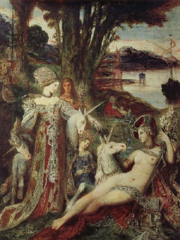 Gustave Moreau The unicorn