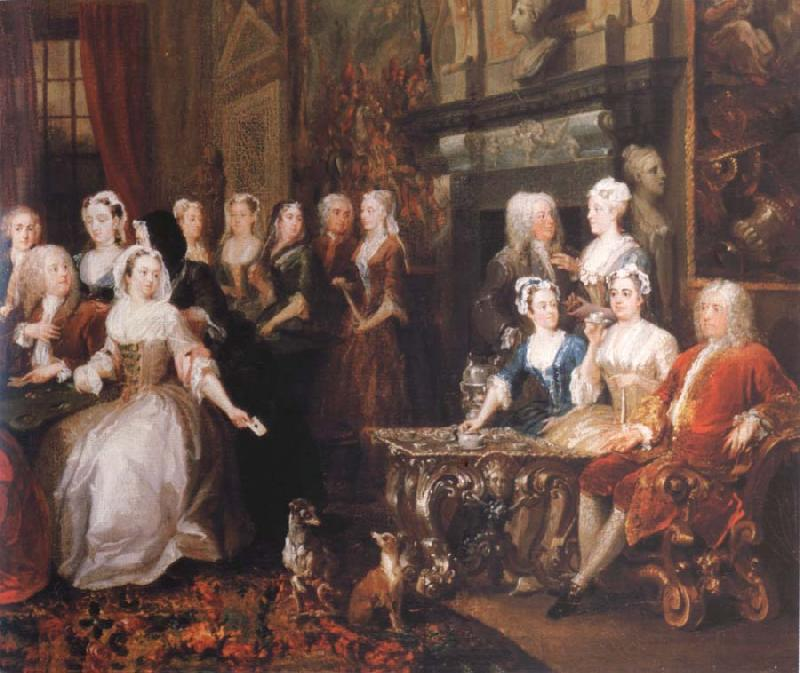 HOGARTH, William Company in Wanstead House