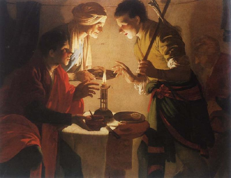 Hendrick Terbrugghen Esau sold its first birthright