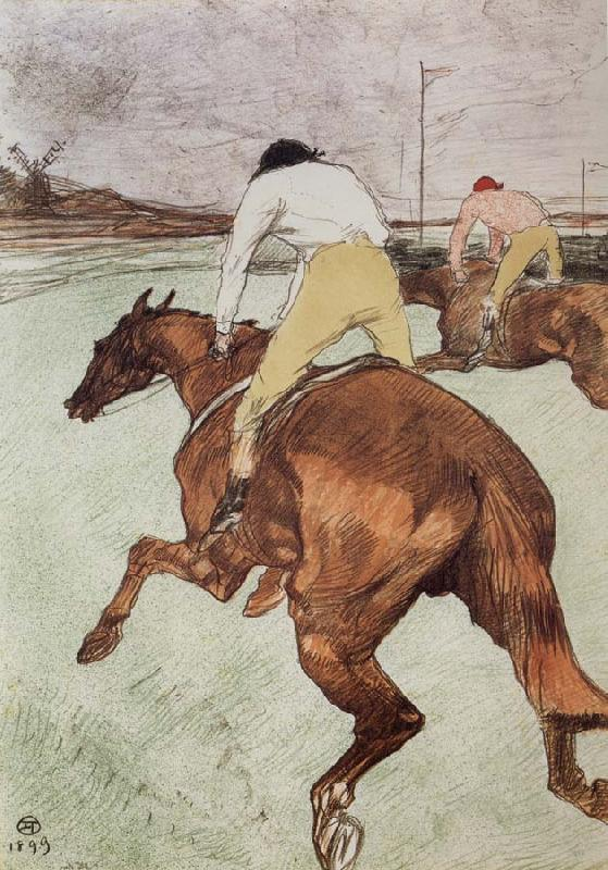 Henri de toulouse-lautrec The Jockey
