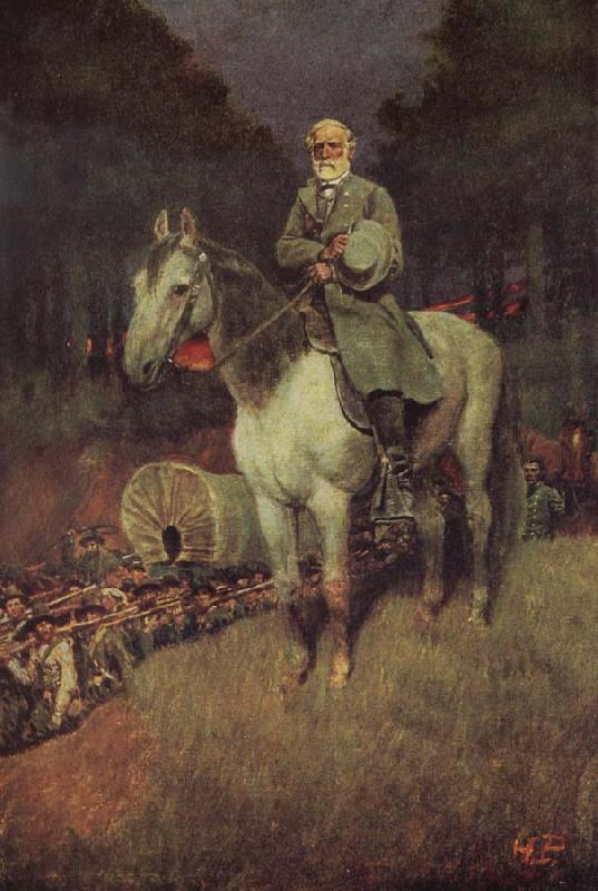 Howard Pyle General lee on his Famous appointment