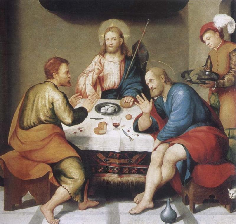 Jacopo Bassano Christ in Emmaus