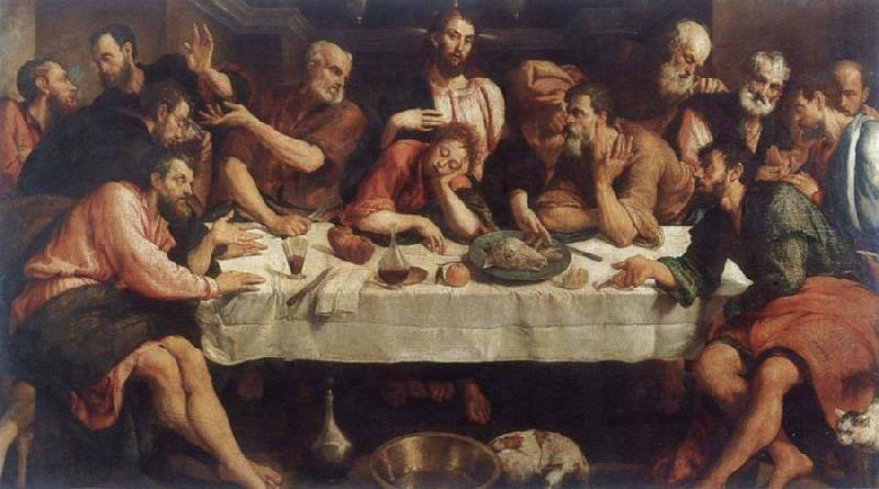 Jacopo Bassano The last communion