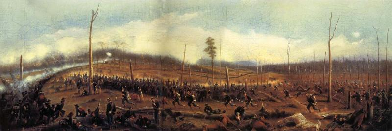 James Walker The Battle of Chickamauga,September 19,1863