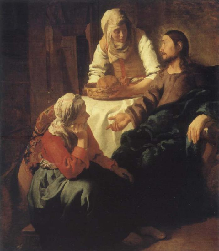 JanVermeer Christ in Maria and Marta