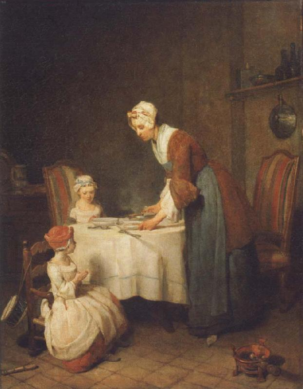 Jean Baptiste Simeon Chardin The grace