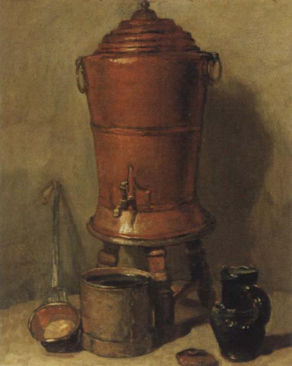Jean Baptiste Simeon Chardin The white heir holder