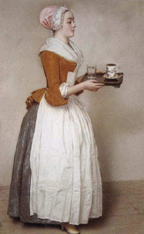 Jean-Etienne Liotard The chocolates maggot