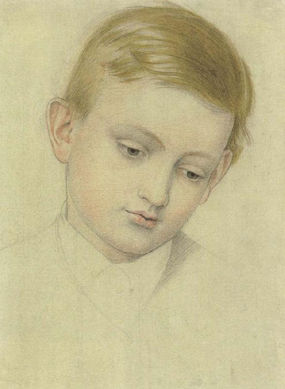 Joseph E.Southall Head of a Boy