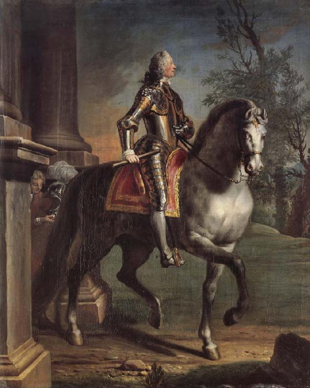 Joseph Highmore Equestrian portrait of King George II