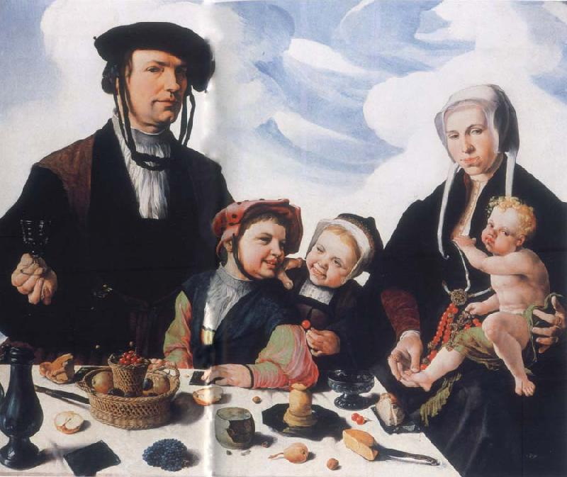 Maerten van heemskerck Art collections national the Haarlemer patrician Pieter Jan Foppeszoon with its family