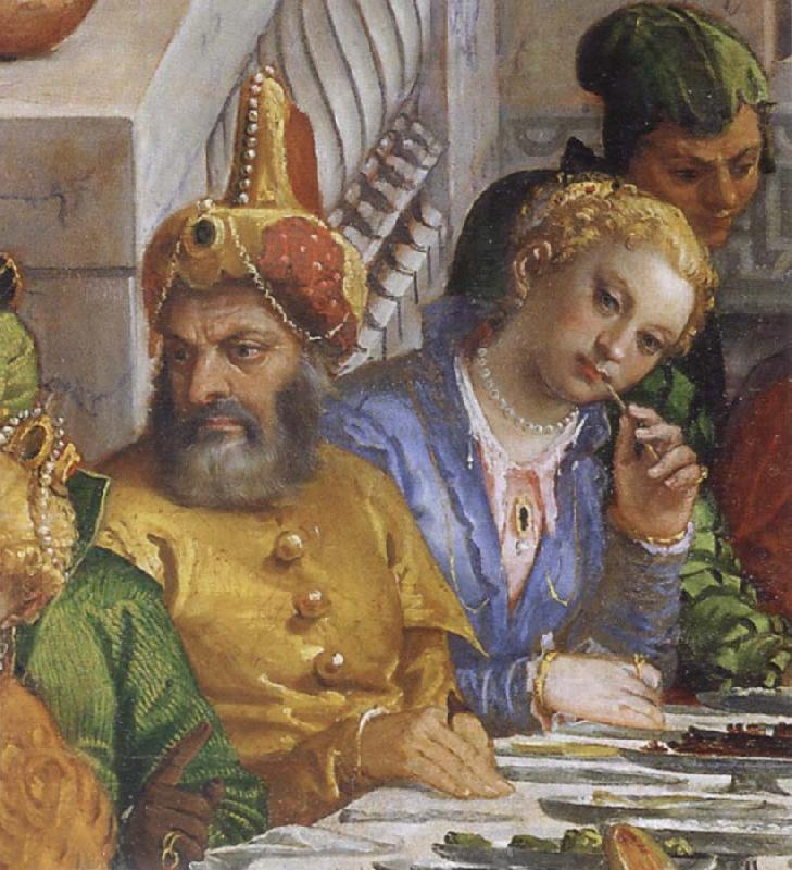 Paolo  Veronese The wedding to canons