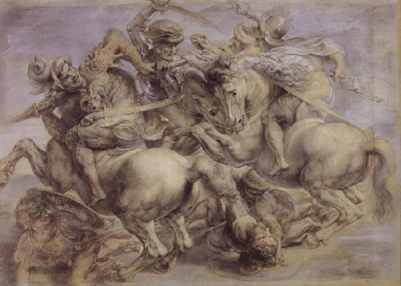 Peter Paul Rubens The fight for the standard