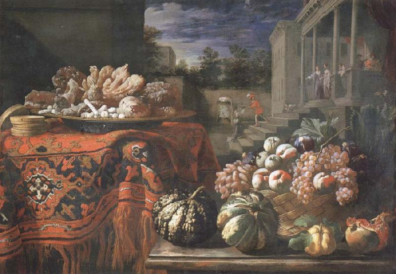 Pier Francesco Cittadini Style life with fruits and sugar work