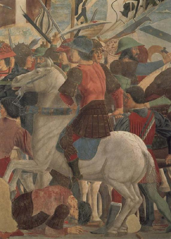 Piero della Francesca The battle between Heraklius and Chosroes