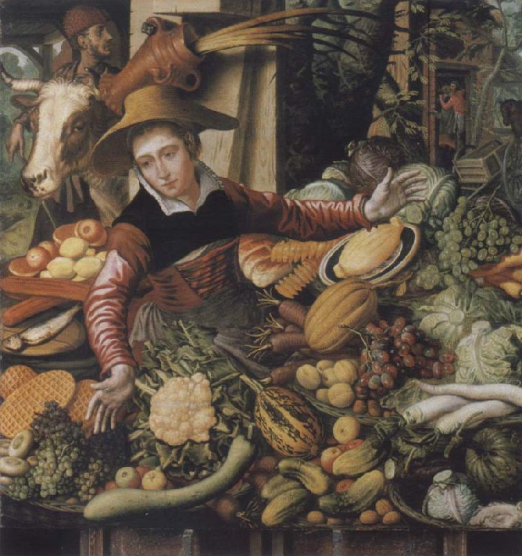 Pieter Aertsen Museums national market woman at the Gemusestand