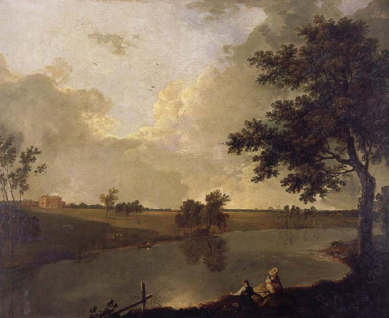 Richard  Wilson View of Tabley House,Cheshire