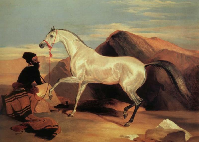 Sir Edwin Landseer Arab stable ion