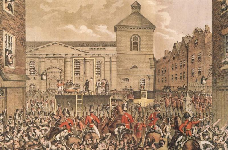 Thomas Pakenham Thomas Street,Dubli the Scene of Rober Emmet-s execution in 1803