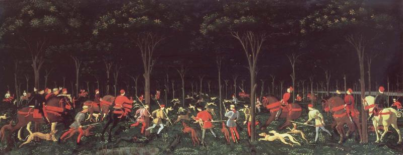 UCCELLO, Paolo Hunt in night