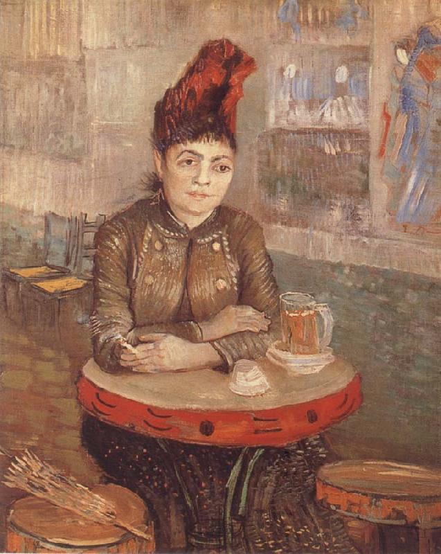 Vincent Van Gogh Agostina Segatori in the cafe you Tambourin