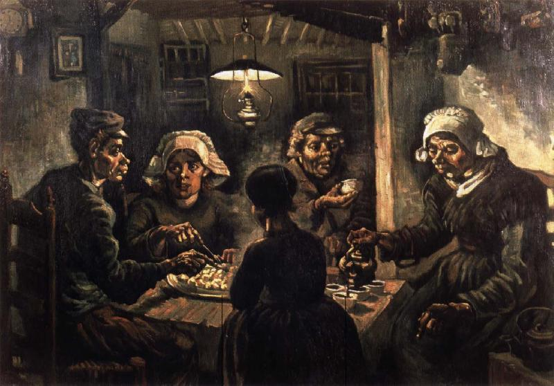 Vincent Van Gogh The potato eaters