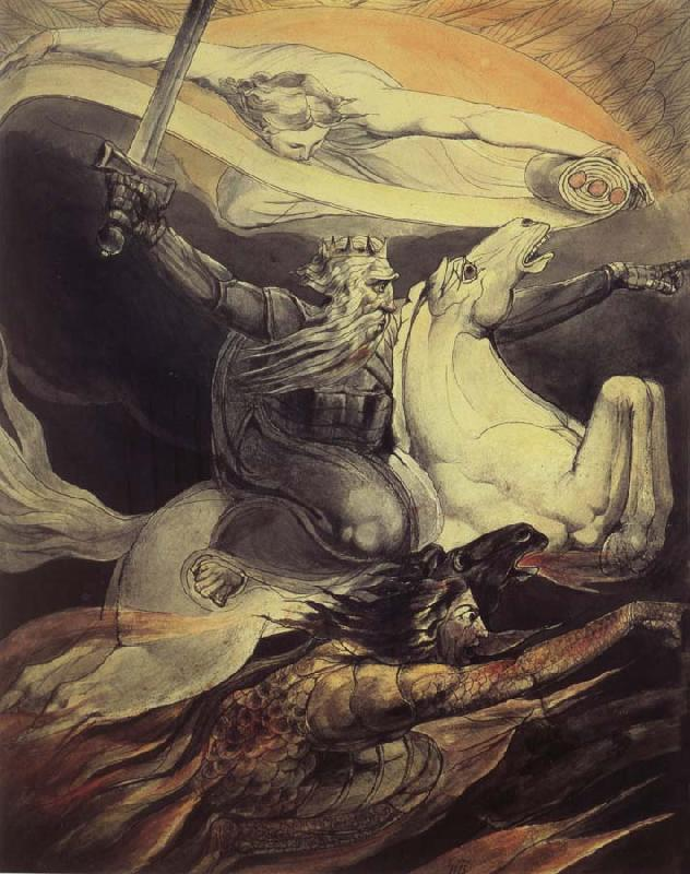 William Blake Death on a Pale Horse