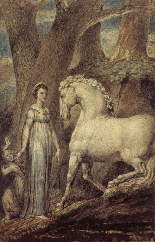 William Blake The Horse, out of William Hayleys Ballads