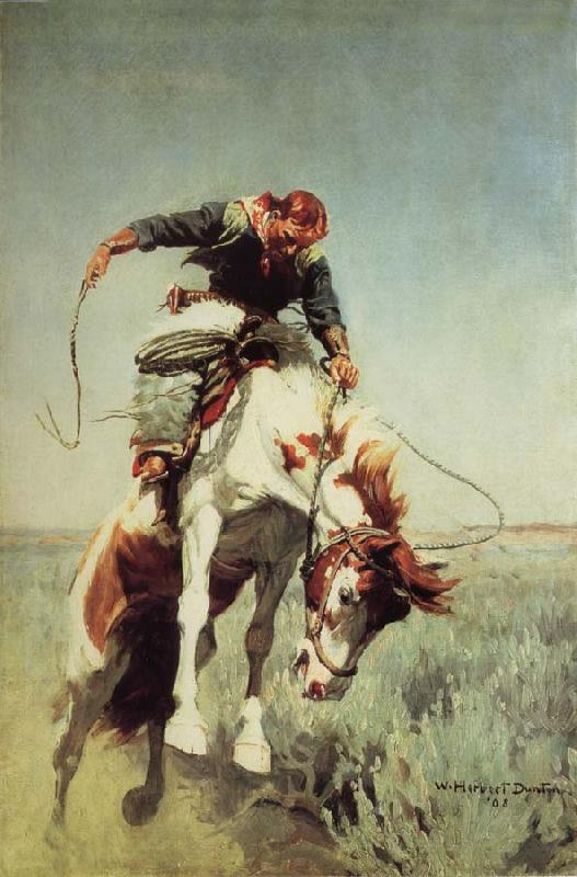 William Herbert Dunton Bronc Rider