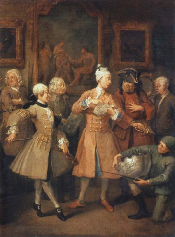 William Hogarth The morning reception